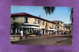REPUBLIQUE CENTRAFRICAINE BANGUI  GARAGE STATION ESSSENCE MOBILGAS RENAULT GOELETTE  AFRICOLOR - Centrafricaine (République)
