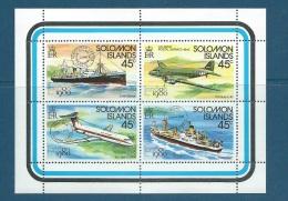 Iles Salomon - Yvert N°406 /409 ** - Cw 5806 - Salomon (Iles 1978-...)