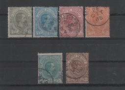 1884-86 Pacchi Postali Serie Cpl US - 1878-00 Humbert I.