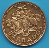 BARBADOS 5 CENTS 1975 - Barbades