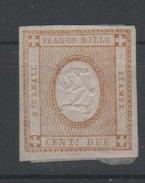 1862 Cifra In Rilievo 2 C. Bistro MLH - Ungebraucht