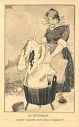 GUERRE 1914/18 (carte Italienne)  - Carte Satirique Illustrée (Sonia Cappa). - Guerre 1914-18