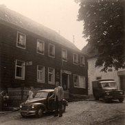 Photo Originale Couple Et Son Auto - Cars