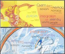 Europa Cept 2006 Belarus 2 Booklets ** Mnh (F5966) Promotion - 2006