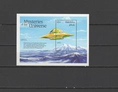 Maldives 1992 Space UFO S/s MNH - Asia