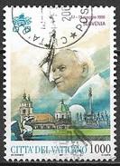 Timbres - Europe - Vatican - 1997 - 1000. - Voyage En Slovénie 1996 - - Vatican