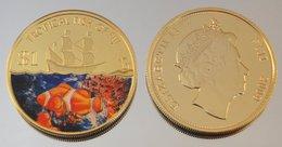 Fidji 1 Dollar 2009 Clown Fish Couleurs Animal - Fidji
