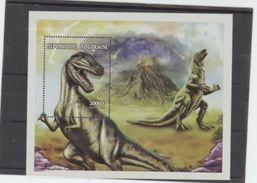 Togo 1997 Dinosaures Dinosaurs Volcan - Prehistory