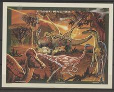 Madagascar 1997 Dinosaures Dinosaurs Cométe - Prehistory