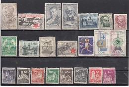 Tchecoslovaquie  Lot De 22 Timbres  Semi Moderne  Différents - Collections, Lots & Series