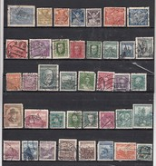 Tchecoslovaquie  Lot De 39 Timbres  Différents  Avant 1939 - Collections, Lots & Series