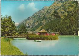 T1083 Gressoney Saint Jean (Aosta) - Il Laghetto - Panorama / Non Viaggiata - Altre Città