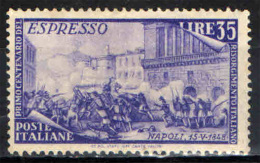 ITALIA - 1948 - SERIE RISORGIMENTO - ESPRESSO - NUOVO MH - GOMMA BRUNITA - 1946-.. République