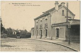 Savigny Sur Orge Gare Des Voyageurs Et Gare Des Marchandises Cylindre à Vapeur Travaux Publics Edit Allorge - Savigny Sur Orge