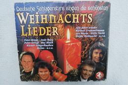 """3 CD Box """"Weihnachtslieder"""" Deutsche Schlagerstars Singen Die Schönsten Weihnachtslieder - Chants De Noel"""