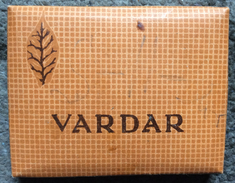 EMPTY  TOBACCO BOX     CIGARETTES   CIGARETTE  VARDAR   MACEDONIA  FNRJ   YUGOSLAVIA - Boites à Tabac Vides