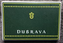 EMPTY  TOBACCO BOX     CIGARETTES   CIGARETTE  DUBRAVA  NDH    CROATIA  WWII. - Boites à Tabac Vides