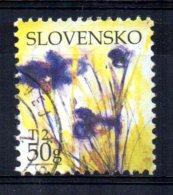 Slovakia - 2007 - Greetings Stamp/Flowers - Used - Slovaquie