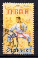 Slovakia - 2009 - Martial Arts - Used - Oblitérés