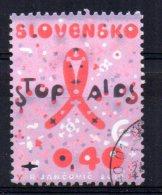 Slovakia - 2010 - Fight Against Aids - Used - Oblitérés
