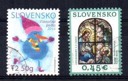Slovakia - 2014 - Christmas - Used - Slovaquie