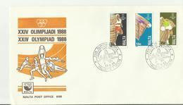 MALTA FDC 1988 - Malte