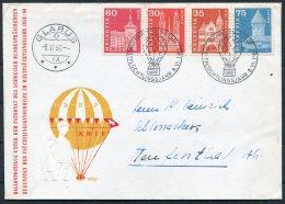 1960 Switzerland Ballon Flugpost Cover. Rapperswil Glarus Flight - Switzerland