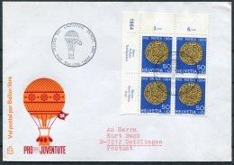 1964 Switzerland Ballonflug Balloon Flight Cover. Pro Patria Lausanne - Covers & Documents