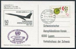 1975 Switzerland Geneve Nations Unies LUPO '75 FISA Kongress Postcard - Switzerland