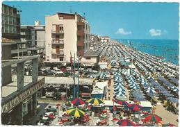 T1094 Igea Marina (Rimini) - Panorama Della Spiaggia - Beach Plage Strand Playa / Viaggiata - Italia