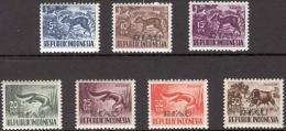 Indonesia 1958 Riau - ZBL 26-32  MNH** Postfris - Indonesia