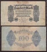 Weimarer Republik , Infla , 100 Mark , 1922 , RB- 72 , VG - Reichsschuldenverwaltung