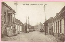 Merxplas ( Merksplas ) - Gemeentehuis En Zicht In 't Dorp - Merksplas