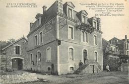 46 SAINT DENIS LES MARTEL  Terminus Hôtel Espinadel Propriétaire  2 Scans - Autres Communes
