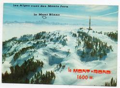 01 Le Mont Rond 1600m. Et La Chaîne Des Alpes - Le Haut Jura - France