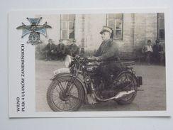 British Motorcycle  BSA  / 4 Regiment Ulans  Wilno /  Poland Army 1918-39 / Reproduction - Motorräder