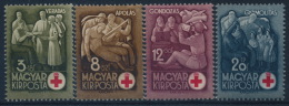 **Hungary 1942 Mi 691-94 (4) Red Cross MNH - Ungarn