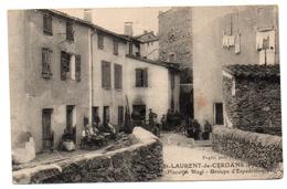 66 - Cpa - St Laurent De Cerdans - Placette Magi - France