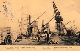 Oude Postkaart Haven Antwerpen Priamos Nr 5 Bruin ??? - Antwerpen