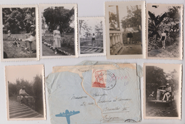 CONGO - Enveloppe - 1949 - Cachet Thysville - Mm Rinette Etienne Chez OTRACO - VOiture - Belgian Congo