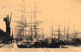 Oude Postkaart Haven Antwerpen Priamos Nr 10  Bruin ??? - Antwerpen