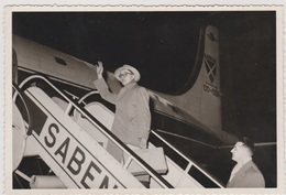 CP - Carte-Photo - CONGO - 1955 - Départ Pour Le CONGO BELGE. SABENA - Belgian Congo - Other