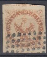 #112# COLONIES GENERALES N° 5 Oblitéré Losange Gros Points (Réunion)  LUXE Et Couleur Cuivrée - Aigle Impérial