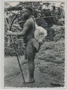 CP - CONGO BELGE - Photo Réel - PYGMEE En Route Pour Une Visite. - Belgian Congo - Other