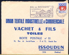 FRANCE -  DOL DE BRETAGNE - CATHEDRALE XI Secolo - Iglesias Y Catedrales