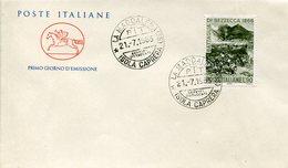 16279 Italia, Special Postmark 1966 La Maddalena, Isola Caprera