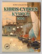 KIBRIS-CYPRUS - CHYPRE - ESSAI - EURO - 2004 - Coffret 8 Pièces - EURO