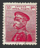 Serbia, 10 P. 1911, Sc # 112, Mi # 98, Used - Serbia