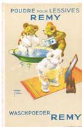 POUDRE Pour Lessives REMY Waschpoeder Remy - Publicité