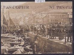 Bergen - Fisketorvet - 1916 ( Photo Originale O. Svanöe) (format 11 / 15 Cm) (A 1223) - Norvège